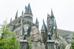 Osaka Japan - NOVEMBER 21, 2016: Den Wizarding världen av Harry Potter royaltyfria bilder