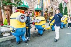 OSAKA, JAPAN - 21. NOVEMBER 2016: Günstlings-Maskottchen von schändlichem ich herein Lizenzfreie Stockfotos