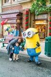 OSAKA, JAPAN - 21. NOVEMBER 2016: Günstlings-Maskottchen von schändlichem ich herein Lizenzfreie Stockbilder