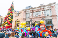 Osaka, Japan - 21. November 2016: Neue Parade, wieder geboren Parade, zur Berühmtheit Lizenzfreies Stockbild