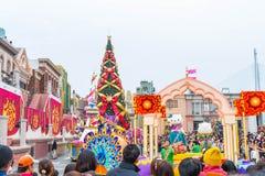 Osaka, Japan - 21. November 2016: Neue Parade, wieder geboren Parade, zur Berühmtheit Lizenzfreie Stockfotografie