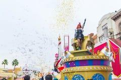 Osaka, Japan - 21. November 2016: Neue Parade, wieder geboren Parade, zur Berühmtheit Lizenzfreie Stockbilder