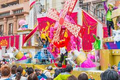Osaka, Japan - 21. November 2016: Neue Parade, wieder geboren Parade, zur Berühmtheit Stockbilder