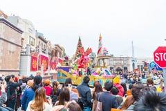 Osaka, Japan - 21. November 2016: Neue Parade, wieder geboren Parade, zur Berühmtheit Stockfotografie
