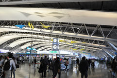 OSAKA, JAPAN - OCT 24: Kansai International Airport Royalty Free Stock Images