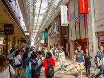 Osaka,Japan - October 27, 2014 :Dotonbori entertainment district Stock Image