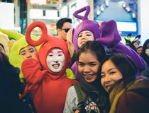 OSAKA,JAPAN - OCTOBER 31 2015 : Dotonbori shopping street in Osa Stock Images