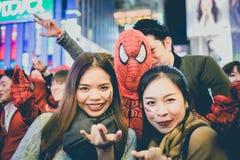 OSAKA,JAPAN - OCTOBER 31 2015 : Dotonbori shopping street in Osa Stock Image