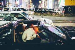 OSAKA,JAPAN - OCTOBER 31 2015 : Dotonbori shopping street in Osa Royalty Free Stock Photography