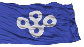 Osaka Japan Prefecture Flag aislado Fotografía de archivo libre de regalías