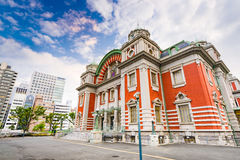 Osaka Japan Public Hall Lizenzfreies Stockfoto