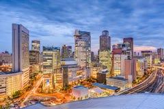 Osaka, Japan Skyline Royalty Free Stock Photos