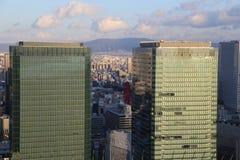Osaka, Japan - Umeda Skyline Stock Photo