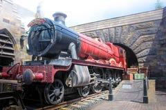 Osaka, Japon - Aprill 12, 2016 : Le monde de Wizarding de Harry Potter dans les studios universels Japon Les studios universels J Photo stock