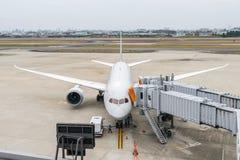 OSAKA, JAPON - 6 décembre 2015 : Aéroport international de Kansai W Photos stock