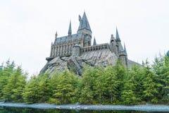 Osaka, Japon - 21 novembre 2016 : Le monde de Wizarding de Harry Potter Photographie stock libre de droits