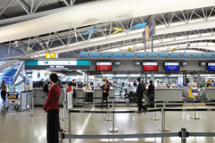 OSAKA, JAPON - 24 OCTOBRE : Aéroport international de Kansai, pris sur 20 Images stock