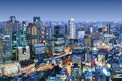 Osaka Japonia obrazy royalty free