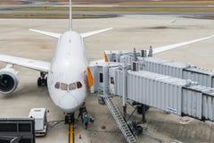 OSAKA JAPONIA, Grudzień, - 6, 2015: Kansai lotnisko międzynarodowe w Zdjęcia Stock