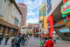 OSAKA JAPONIA, Grudzień, - 1, 2015: Universal Studio Japonia (USJ) Obrazy Stock