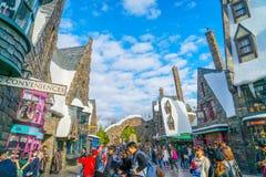 OSAKA JAPONIA, Grudzień, - 1, 2015: Universal Studio Japonia (USJ) Zdjęcia Royalty Free