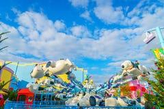 OSAKA JAPONIA, Grudzień, - 1, 2015: Universal Studio Japonia (USJ) Zdjęcie Stock