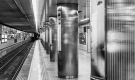 OSAKA JAPONIA, MAJ, - 28: Wnętrze Osaka stacja na Maju 28, 2016 Zdjęcia Stock