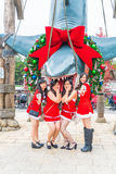 OSAKA JAPONIA, Nov, - 21, 2016: Fotografia szczęki, jeden najwięcej Zdjęcie Stock