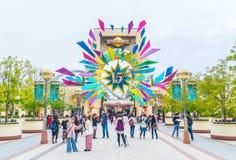 OSAKA JAPONIA, NOV, - 21 2016: Główne Wejście z 15 rok Anniver Zdjęcia Royalty Free