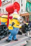 OSAKA JAPONIA, NOV, - 21 2016: Kolonel maskotka od Podłego Ja wewnątrz Zdjęcie Stock
