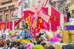 Osaka Japonia, NOV, - 21 2016: Nowa parada, Odrodzona parada sława, Obraz Stock