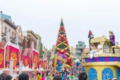 Osaka Japonia, NOV, - 21 2016: Nowa parada, Odrodzona parada sława, Obrazy Stock