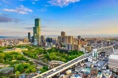 Osaka Japonia pejzaż miejski zdjęcie royalty free