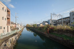 Osaka-Kanal Lizenzfreies Stockfoto