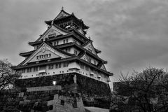 Osaka kasztel Fotografia Royalty Free