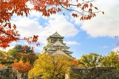Osaka kasztel Fotografia Stock