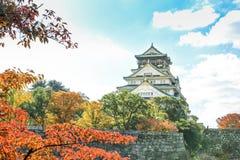 Osaka kasztel Obrazy Stock