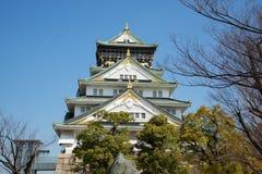 Osaka kasztel w Matsumoto, Japonia Fotografia Stock