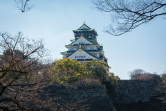 Osaka kasztel w Matsumoto, Japonia Obraz Royalty Free