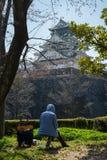 Osaka kasztel w Matsumoto, Japonia Obrazy Stock