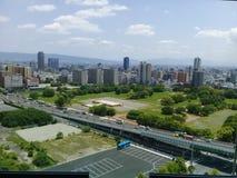 Osaka Landscape stock afbeeldingen