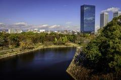 Osaka linia horyzontu Obraz Royalty Free