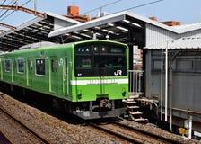 Osaka Loop Line Train, Osaka, Japan Lizenzfreies Stockbild