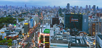 Osaka Metropolis Royalty Free Stock Photography