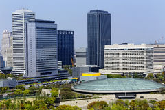 Osaka miasto Zdjęcia Royalty Free