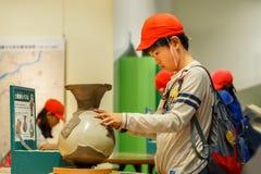 Osaka Museum de la historia imagen de archivo libre de regalías