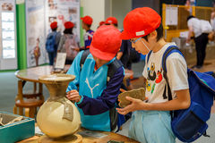 Osaka Museum der Geschichte Stockfotos