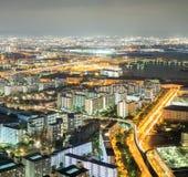 Osaka night Stock Photo