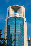 Osaka office building. Office building in the main business district of Osaka city in Umeda stock photography