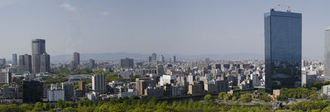 Panorama from Osaka Royalty Free Stock Images